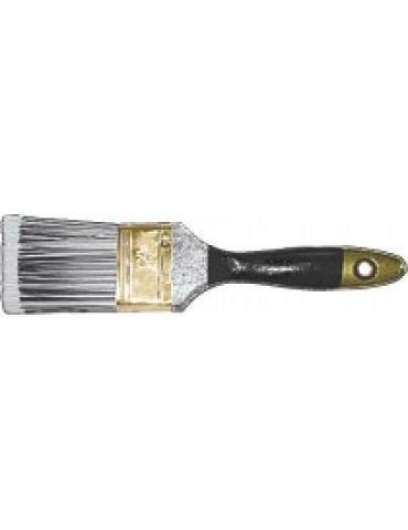 Кисть FIT флейцевая СТАЙЛ искусственная черно-белая щетина 50мм