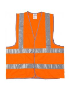 Жилет Stayer флуоресцентный, оранжевый, XXL (52-54