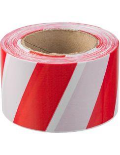 Лента Зубр сигнальная, красно-белая, 75*200мм