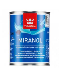 Краска декоративная Tikkurila Miranol, 0,1л, серебро