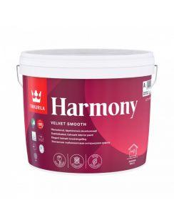 Краска Tikkurila Harmony акрилатная интерьерная для стен и потолков, 0,9л, матовая