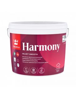 Краска Tikkurila Harmony акрилатная интерьерная для стен и потолков, база С, 2,7л, матовая