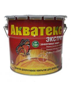 Пропитка Акватекс Экстра, 3л, ваниль