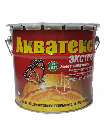 Пропитка Акватекс Экстра, 3л, груша