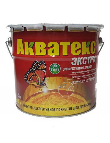 Пропитка Акватекс Экстра, 3л, орех
