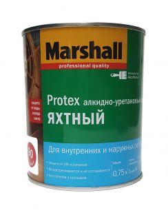 Лак MARSHALL Protex яхтный, алкидно-уретановый, глянцевый 90, 0,75л