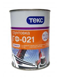 Грунт УНИВЕРСАЛ ГФ-021 ТЕКС красно-коричневый 1кг