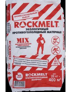 """Антигололёд """"ROCKMELT MIX"""" 20кг, быстрого действия"""