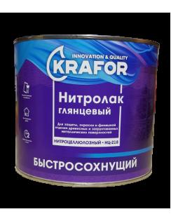 Лак Krafor НЦ-218,1,7кг