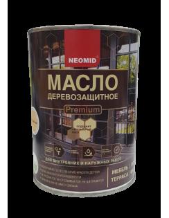 Масло Neomid Premium деревозащитное, 0,75л, орех