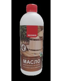 Масло Neomid для бань и саун, 0,5л