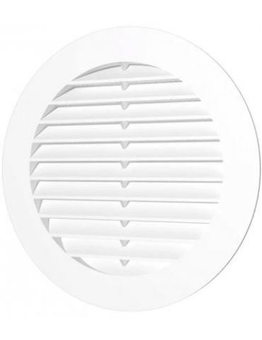Решетка вентиляционная ЭРА круглая, D-100мм, пластик