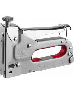 Пистолет Mirax скобозабивной, регулировка, 4 - 14мм