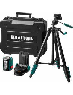 Нивелир лазерный KRAFTOOL, CL-20-4, 20м, точ.+/- 0,2мм