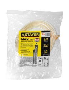 "Гидроуровень Stayer ""Master"" шкала, d6мм, 10м"