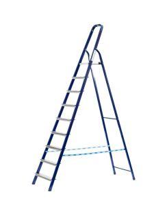 Лестница-стремянка СИБИН стальная, 10 ступеней, 208см