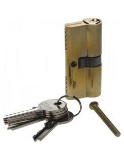 Личинка ЗУБР ключ-ключ, 5PIN, 60мм, латунь