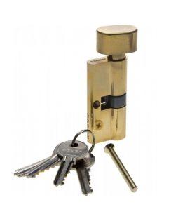 Личинка ЗУБР ключ-защелка, 5PIN, 70мм, латунь