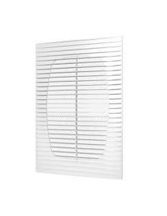 Решетка вентиляционная ЭРА разъемная, 208х208мм, пластик