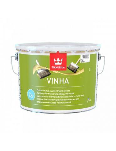 Антисептик Tikkurila Vinha для деревянных фасадов, 2,7л