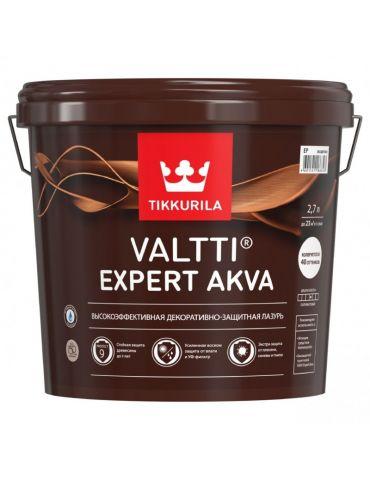 Антисептик для дерева Tikkurila Expert Akva, 2,7л, рябина