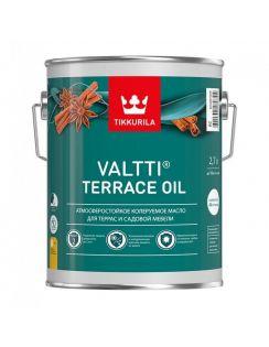 Масло для террас Tikkurila Valtti Terrace Oil, 2,7л