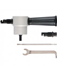 Насадка на дрель для резки листового металла до 1.8 мм Сибртех