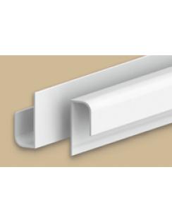 """Профиль """"L"""" для панелей 8мм, 3,0м """"Идеал Ламини"""" белый глянцевый"""