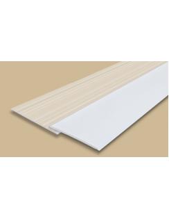 """Панель стеновая """"Идеал Ламини"""", 0,25х3м, белая глянцевая"""