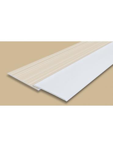 """Панель стеновая """"Идеал Ламини"""", 0,25х2,7м, белая глянцевая"""