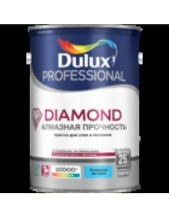 Краска DULUX DIAMOND алмазная прочность для стен и потолков, износостойкая, матовая,база BС 4,5л