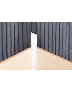 Раскладка внутренняя для плитки универсальная, 10мм, 2,5м, Белая