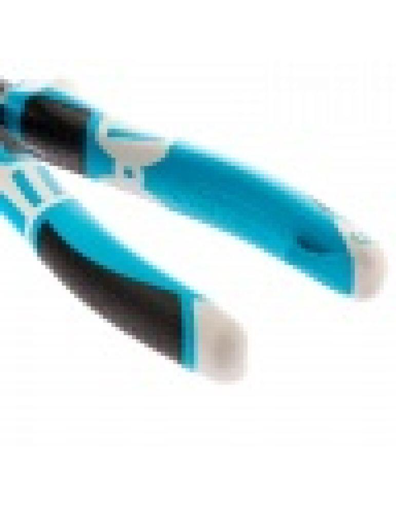 Плоскогубцы Gross, 180 мм, трехкомпонентные рукоятки