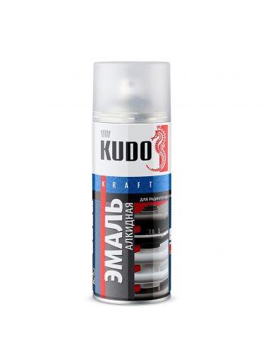 Краска аэрозольная KUDO для радиаторов, 520мл, белая