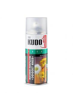 """Декоративное покрытие для стекла KUDO """"эффект инея"""" аэрозоль 520мл KU-9031"""