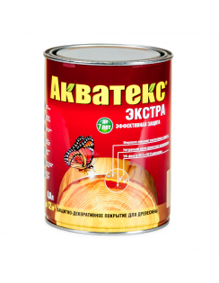 Пропитка Акватекс Экстра, 0,8л, белый