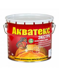 Пропитка Акватекс Экстра, 3л, белый
