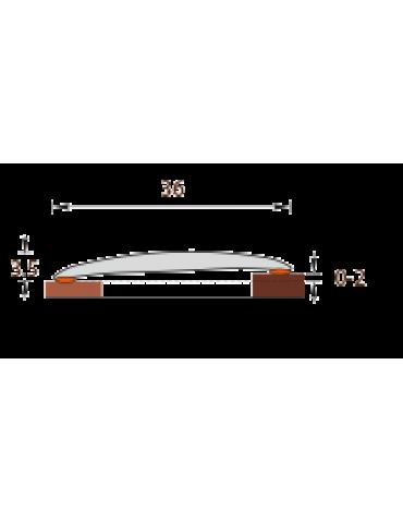 Порог Идеал Изи, 36мм, 0,9м, венге