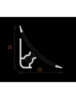 """Плинтус для столешницы """"Идеал"""", 3,0м, камешки"""