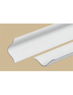 Бордюр на ванну 25мм универ, 2,0м, белый глянцевый