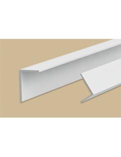 Угол арочный 20х12мм, 2,7м, белый