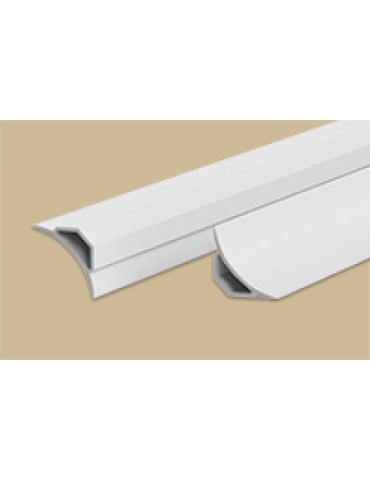 Галтель с мягкими краями, 2,5м, белый
