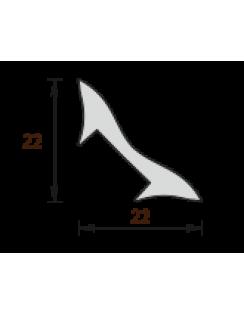 Угол внутренний (галтель), 17х17, 2,5м