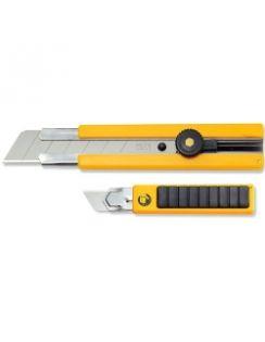 Нож OLFA с резин.накладками, 25мм