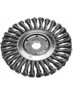 Щетка STAYER диск. для УШМ пучки 0.5мм, 150мм/22мм