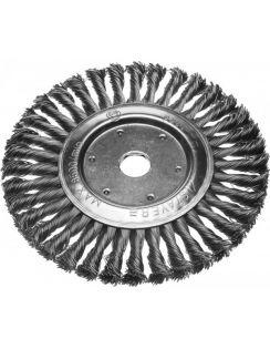Щетка STAYER диск. для УШМ пучки 0.5мм, 200мм/22мм