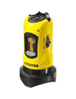 Нивелир Stayer лазер. SLL-1, 10м точ.+/- 0,5мм
