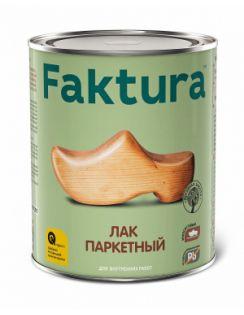 Лак паркетный FAKTURA уретан-алкидный, полуматовый, 2,7л