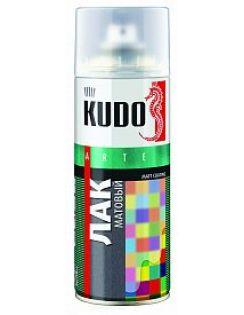 Лак аэрозоль KUDO акриловый, 520мл
