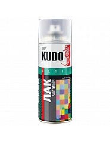 Лак аэрозоль KUDO акриловый, матовый, 520мл